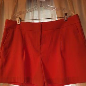 Ann Taylor NWT orange shorts